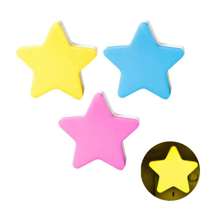 Star LED Light Kids Bedroom Night Light