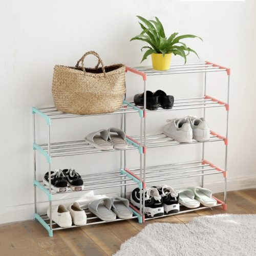 Steel Shoe Rack Storage Organizer