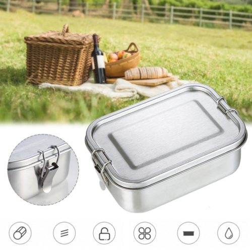 Metal Lunch Box Leakproof Container