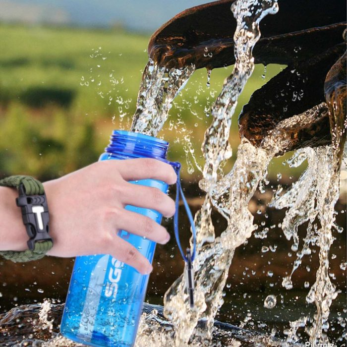 Water Filter Water Bottle Camping Bottle
