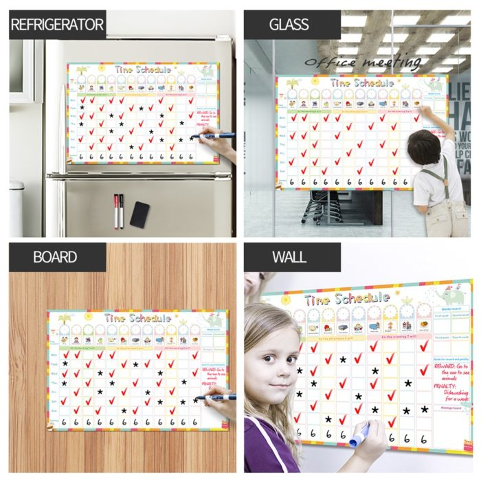 Responsibility Chart Magnetic Board