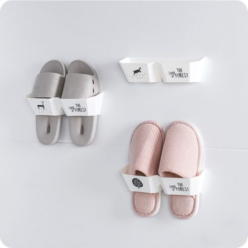 Wall Hanging Shoe Rack Self Adhesive