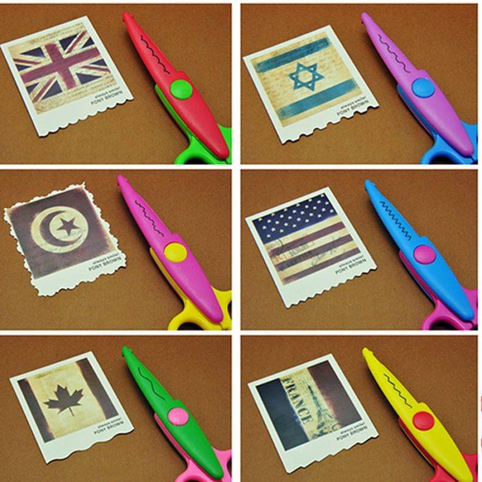 Craft Scissors Decorative Cutters (6Pcs)