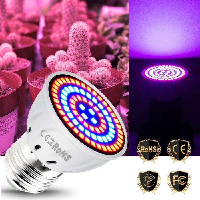 Grow Light Bulb Plant Spectrum LED