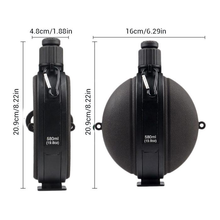 Military Water Bottle Leak Proof Design