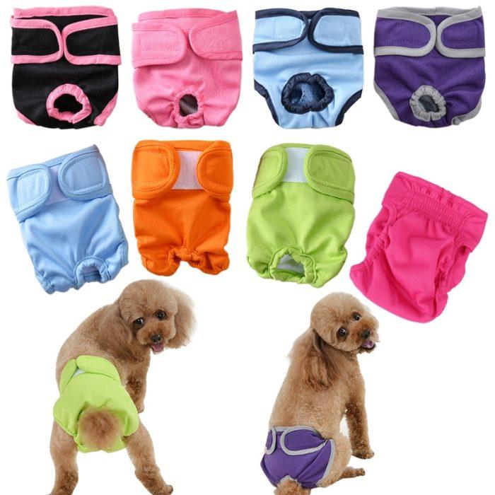 Puppy Diaper Reusable Pet Pants