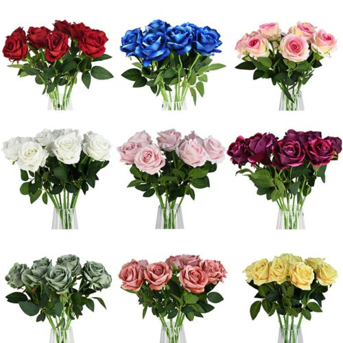 Artificial Rose Flower Decorative Roses