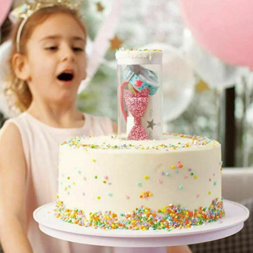 Surprise Cake Stand Pop-up Gift Holder