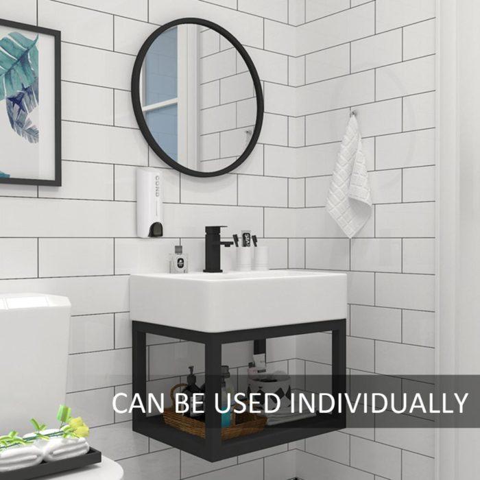 Shower Shampoo Dispenser Wall Mount