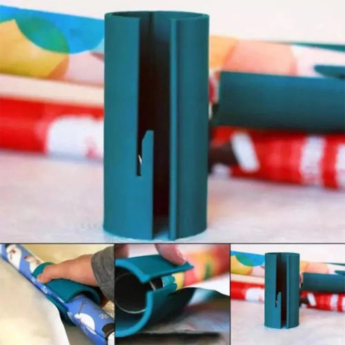 Sliding Wrapping Paper Cutter DIY Tool