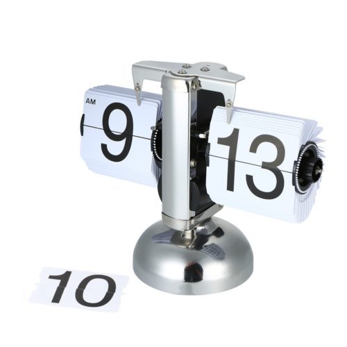 Retro Flip Clock Desk Decor Clock