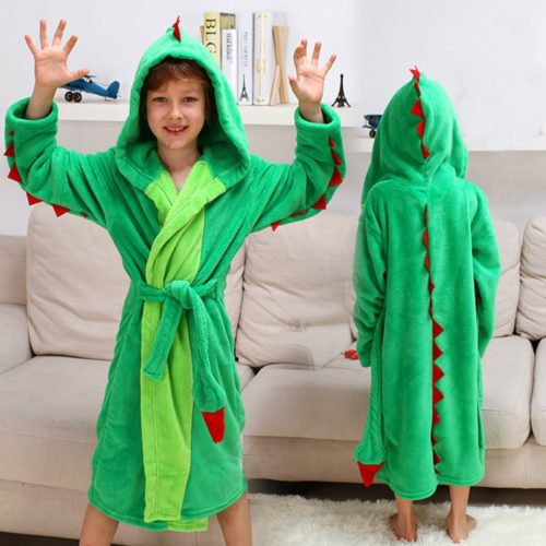 Bathrobe For Kids With Hood