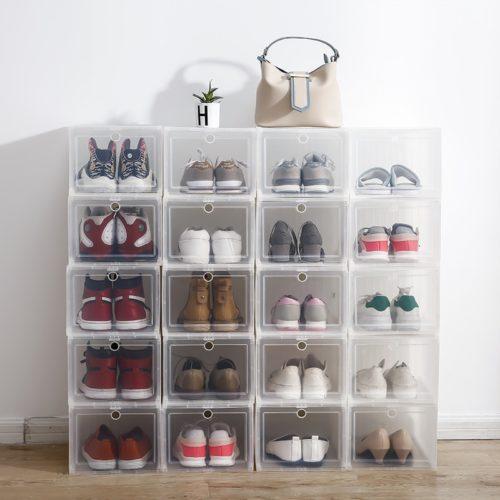 Stackable Storage Container Plastic Organizer