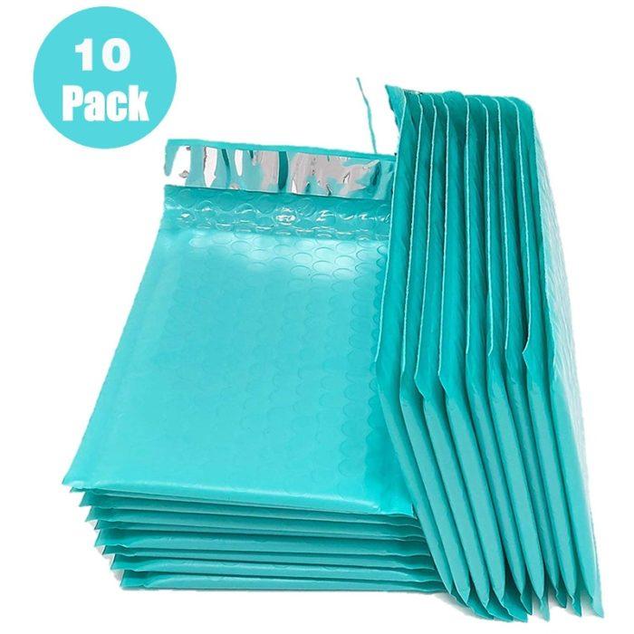 Bubble Wrap Envelopes Colored Packaging (10 Pcs)
