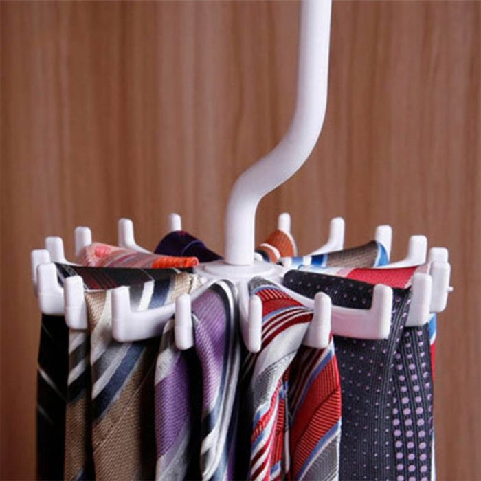 Tie Hanger Rotating Belt Rack