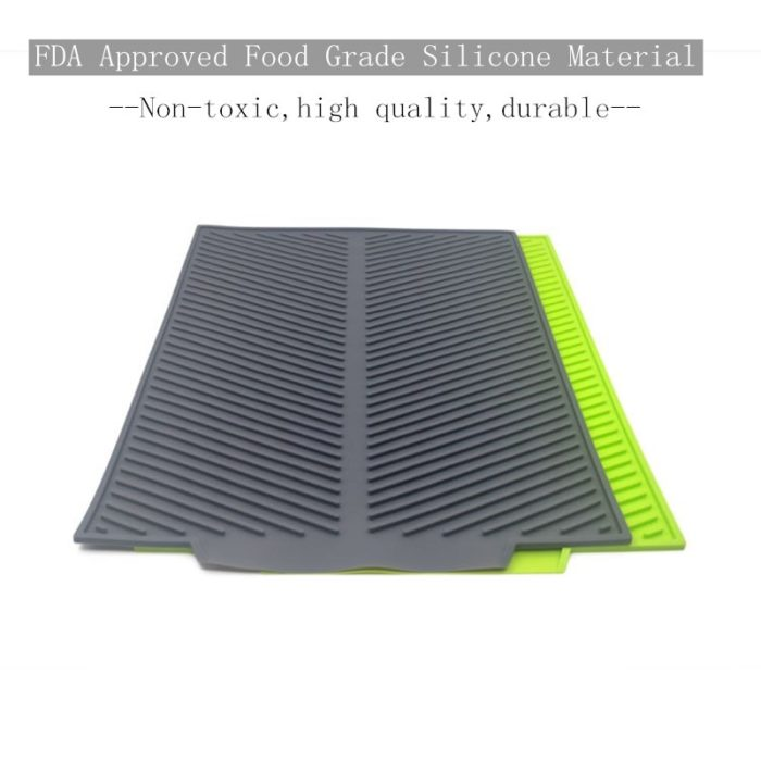 Drying Mat Silicone Dish Drying Mat