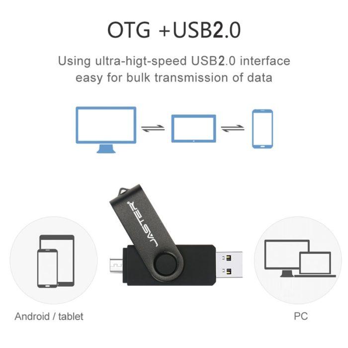 Phone Flash Drive Plug and Play