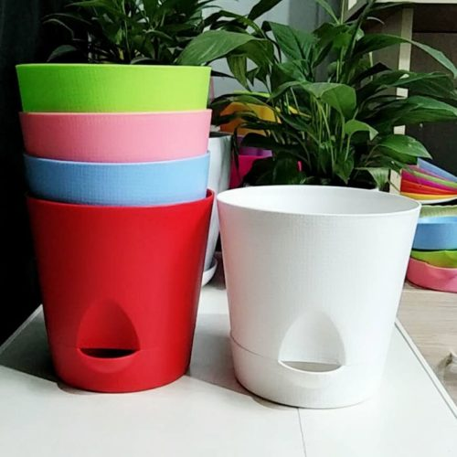 Indoor Plant Pot Self-Watering Pot