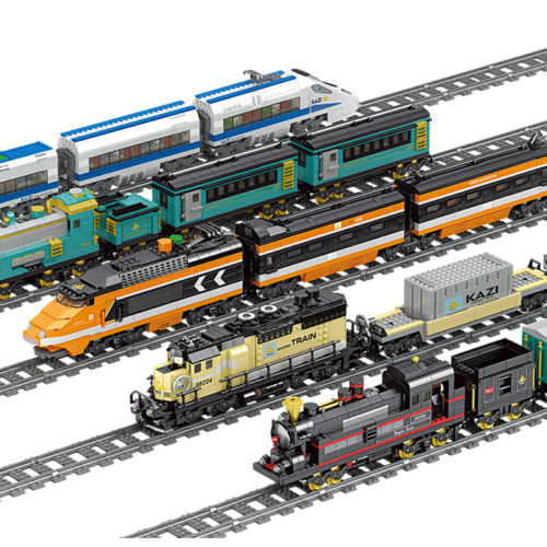 Toy Train Set Battery Powered