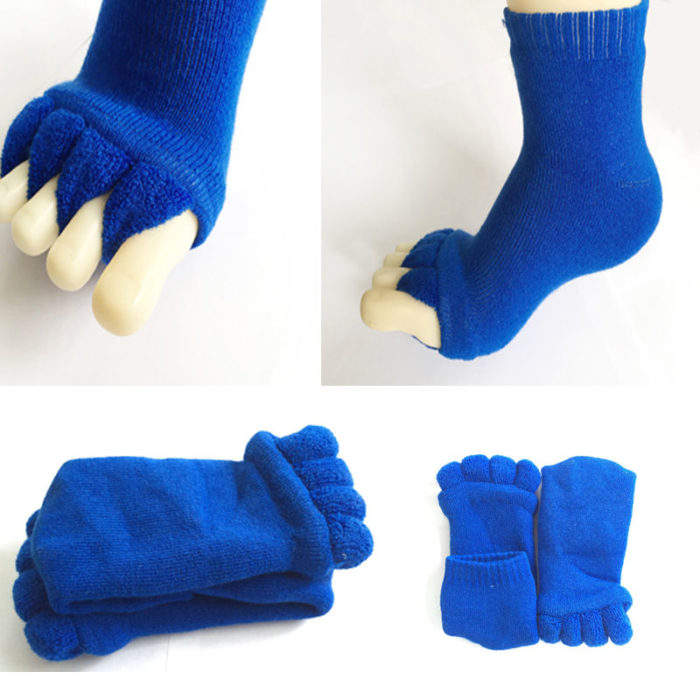 Toe Separator Socks Elastic Footwear