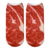 Bacon Socks Unisex Meat Socks