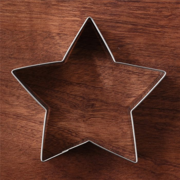 Star Cookie Cutters Baking Tool Set (3Pcs.)