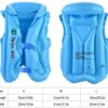 Inflatable Life Vest Swimming Jacket