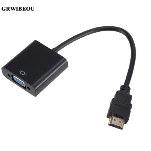 HDMI To VGA Converter Cable Adapter