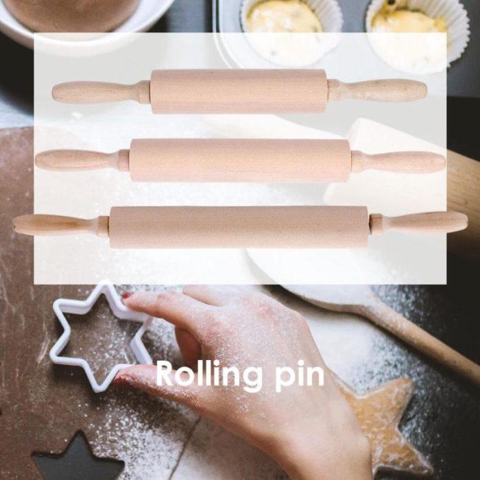 Bread Roller Wooden Rolling Pin
