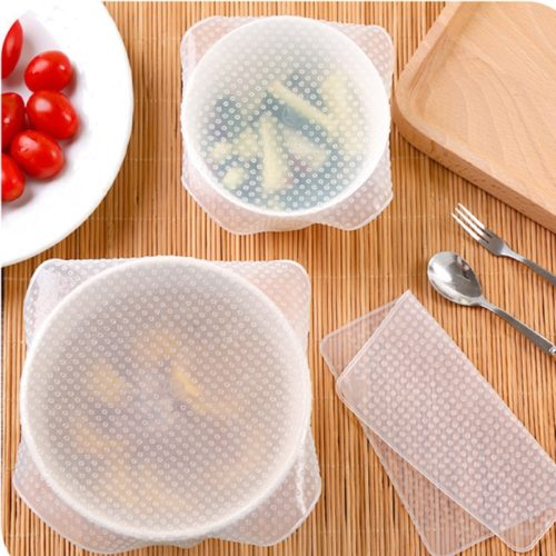 Silicone Food Wrap Reusable (4pcs)
