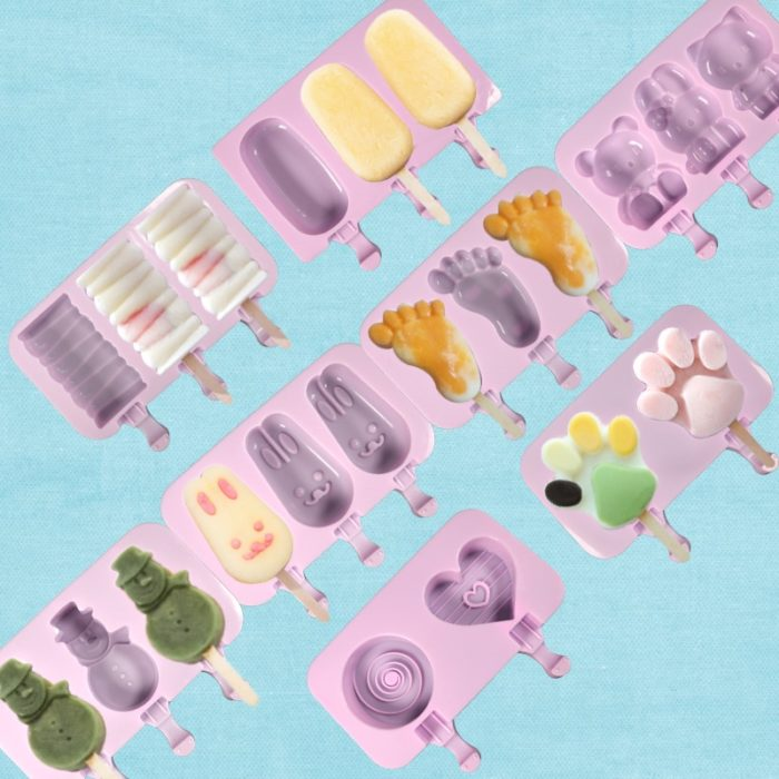 Icy Pole Moulds Popsicle Molder
