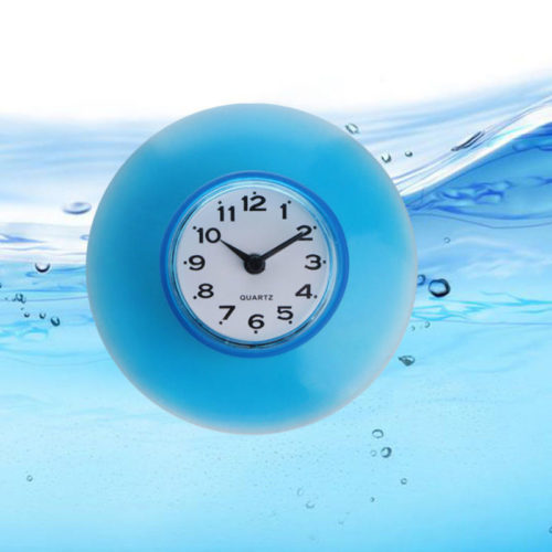 Shower Clock Wall Suction Clock