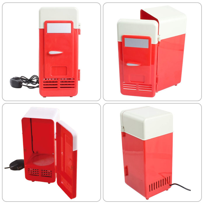 USB Fridge Portable Drink Cooler