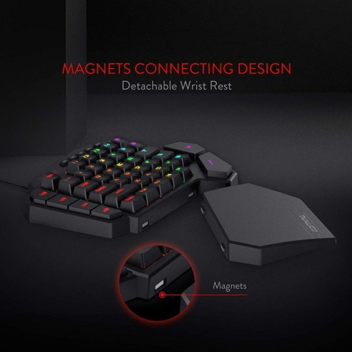 Mini Gaming Keyboard 42 LED Keys