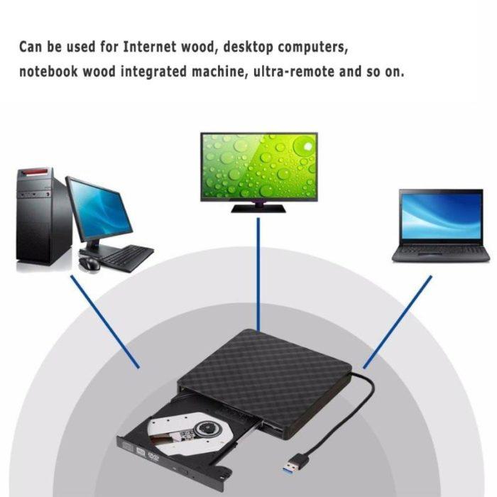 External DVD Drive CD Player