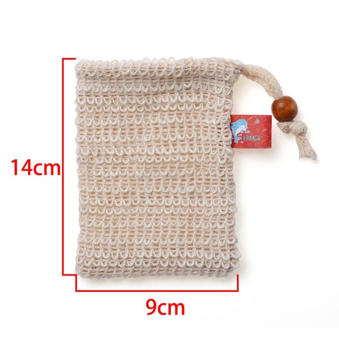 Soap Bag Natural Exfoliating Pouch