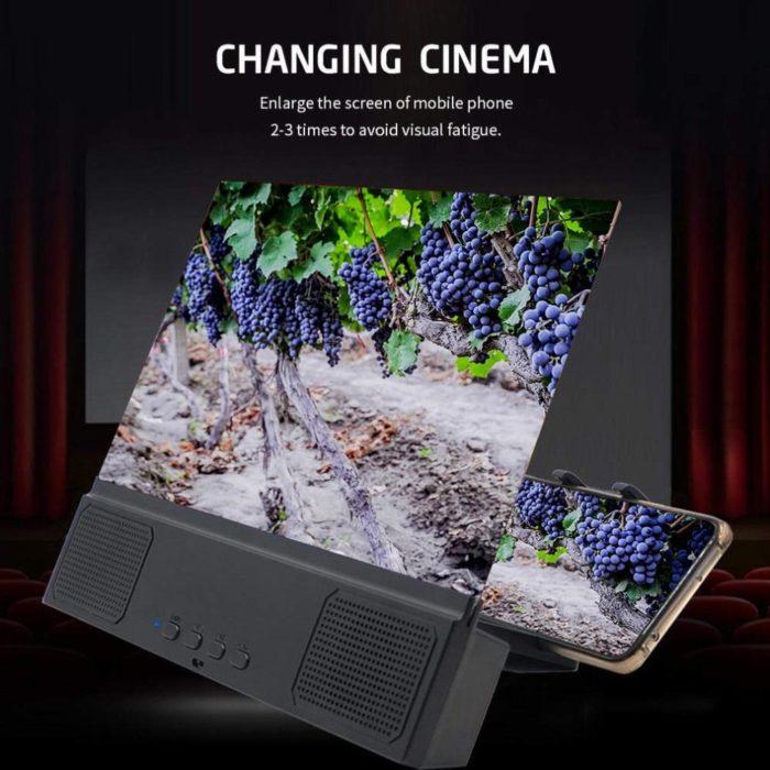 Screen Amplifier with Speaker