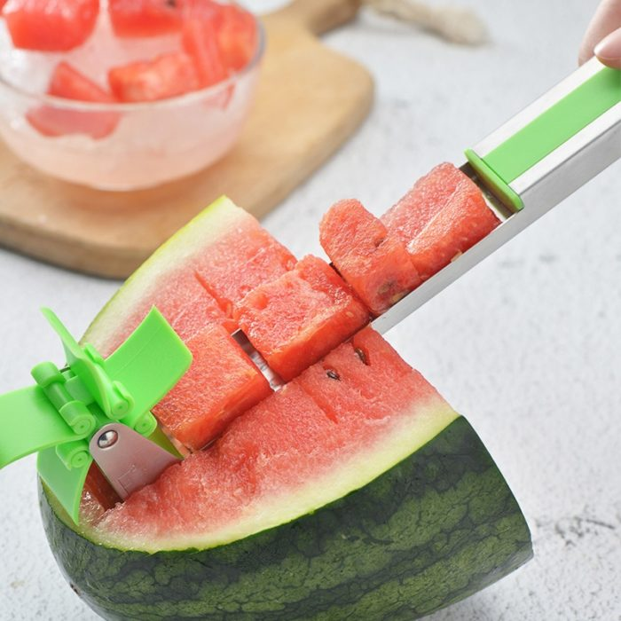 Windmill Watermelon Slicer Stainless Tool