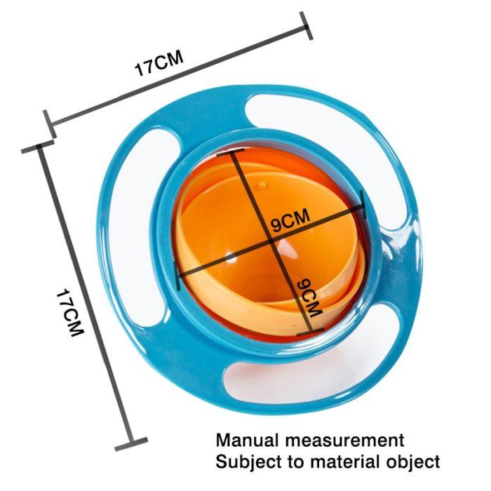 Gyro Bowl 360-Degree Spill-proof Bowl