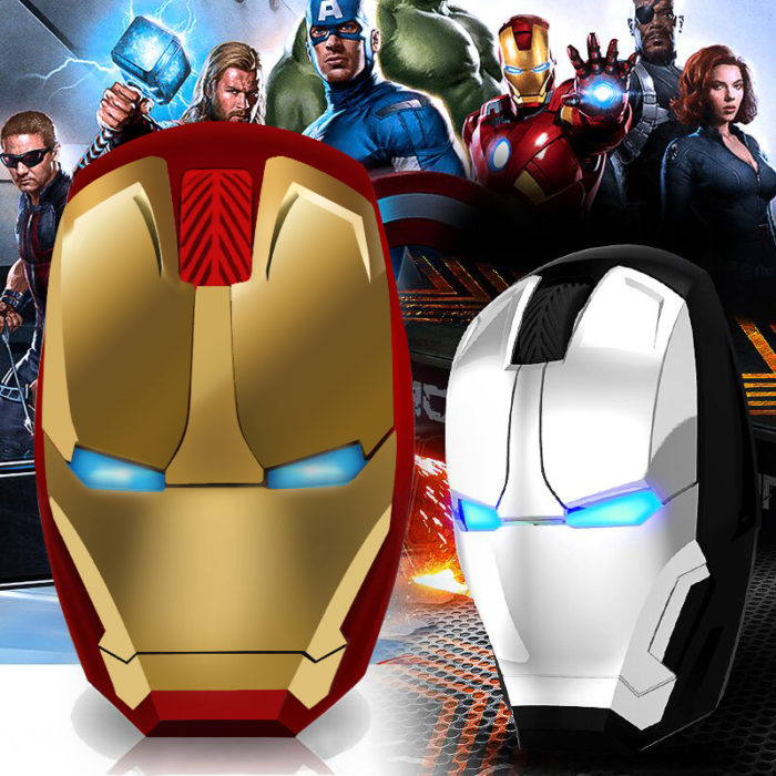 Iron Man Mouse Wireless Gaming Device