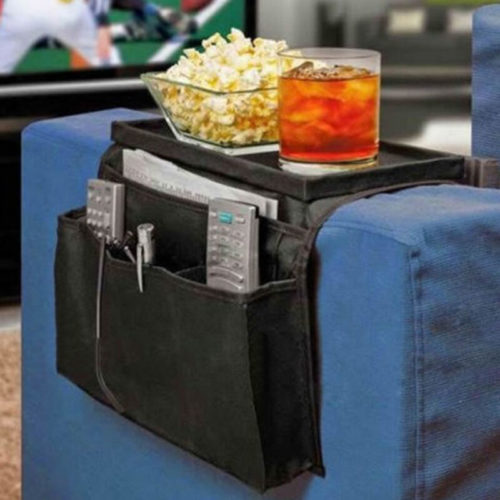 Sofa Tray Arm Rest Organizer