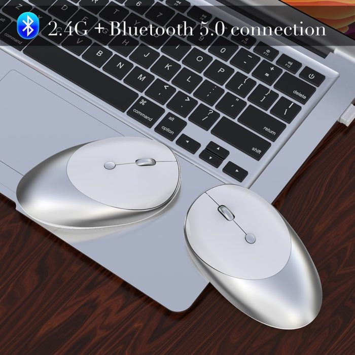 Rechargeable Bluetooth Mouse Wireless Device