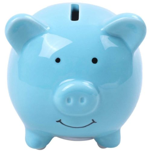 Piggy Bank For Kids Cute Ceramic Pig