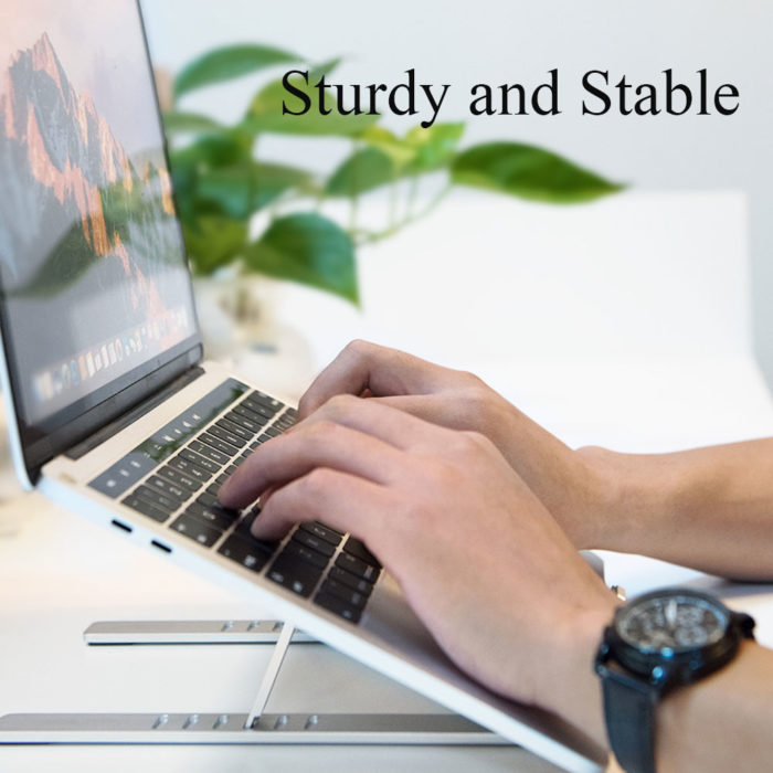Foldable Laptop Stand Adjustable Stand