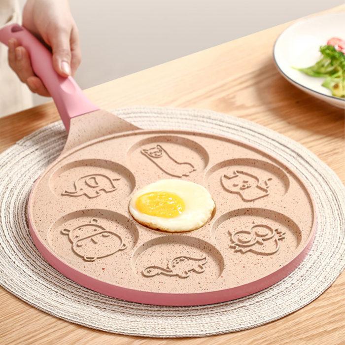 Pancake Pan 7-Hole Frying Pan