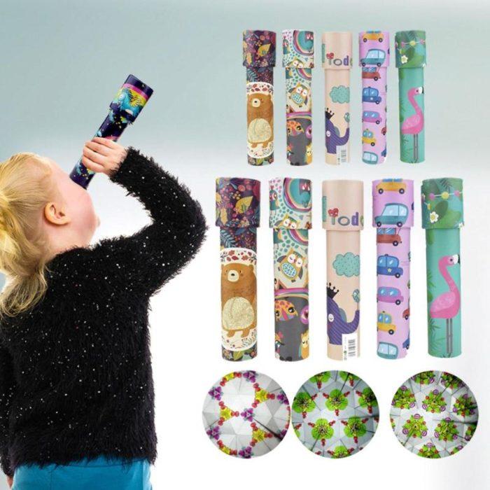 Toy Kaleidoscope Kids Rotating Puzzle