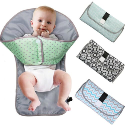 Portable Changing Mat Baby Diaper Pad