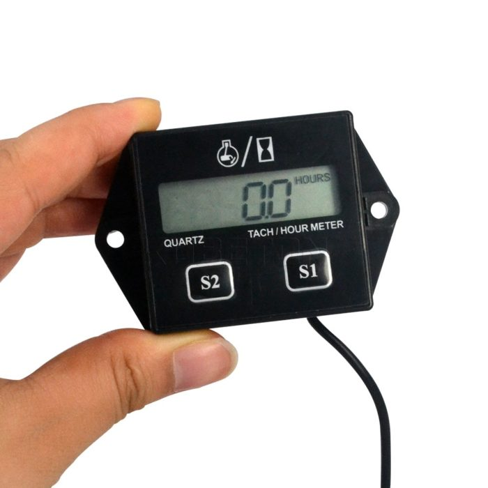 Tachometer Gauge With LCD Display