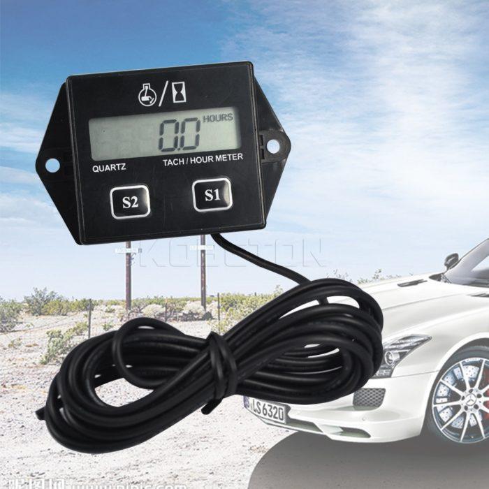 Tachometer Gauge With LCD Display