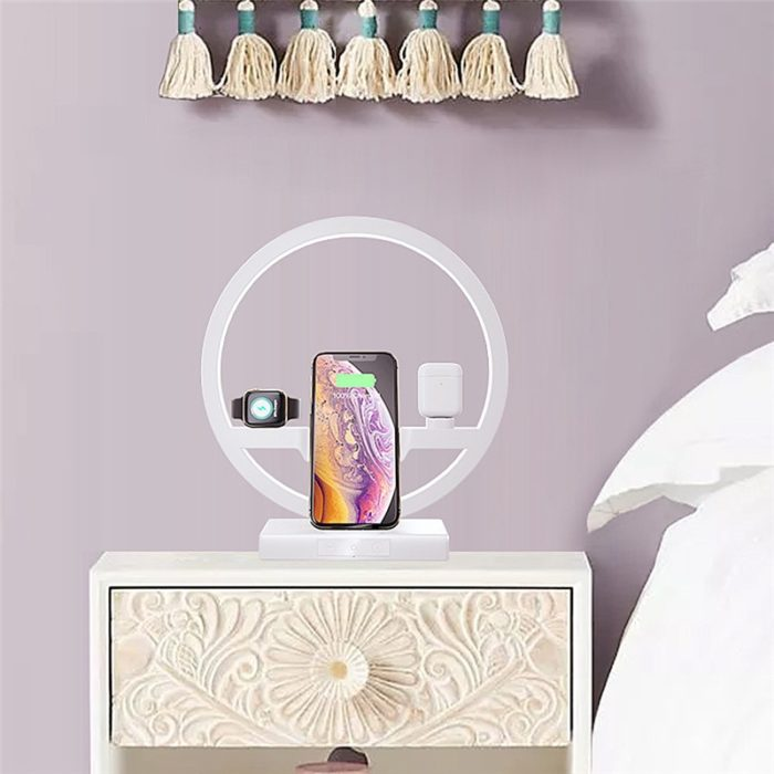 3 in 1 Apple Charger Night Lamp